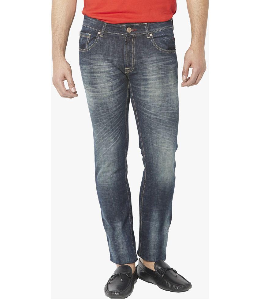Globus Navy Skinny Fit Jeans