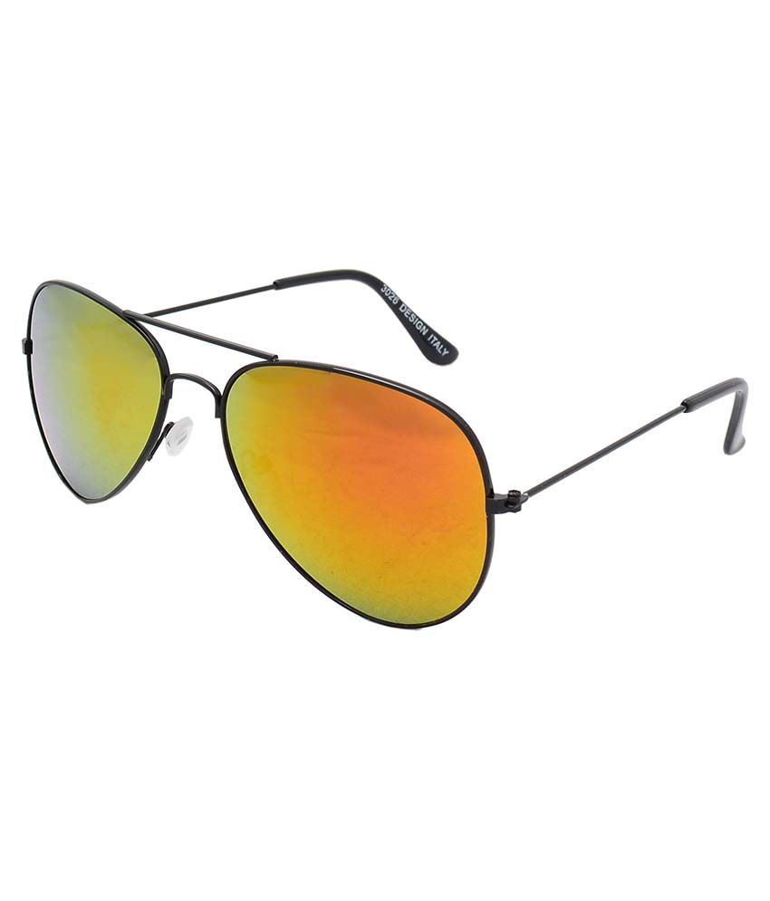 4a3572814f Optical Express Orange Aviator Sunglasses - Buy Optical Express Orange  Aviator Sunglasses Online at Low Price - Snapdeal