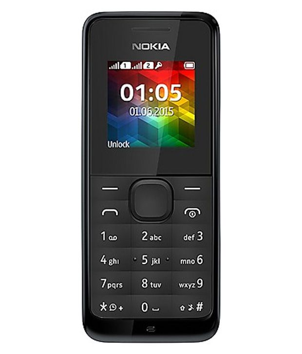 Nokia 105 DS Below 256 MB Black