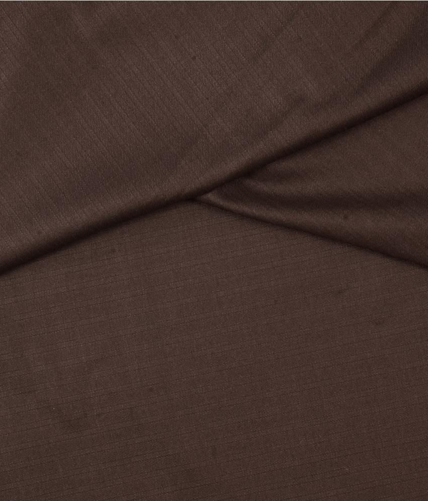 Raymond Brown Poly Viscose Unstitched Pant Pc