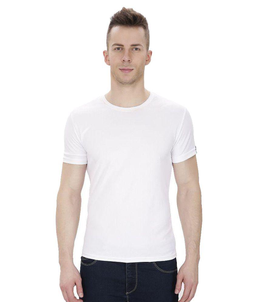 Izor White Round T Shirts