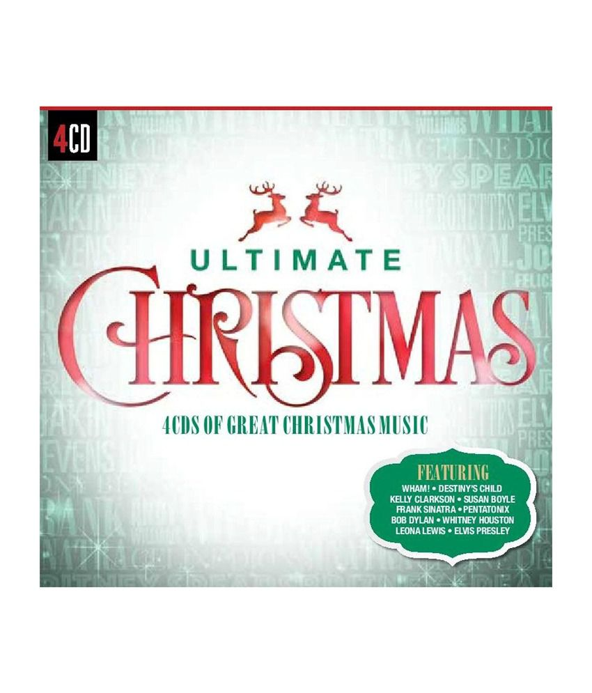 Ultimate Christmas Audio CD English