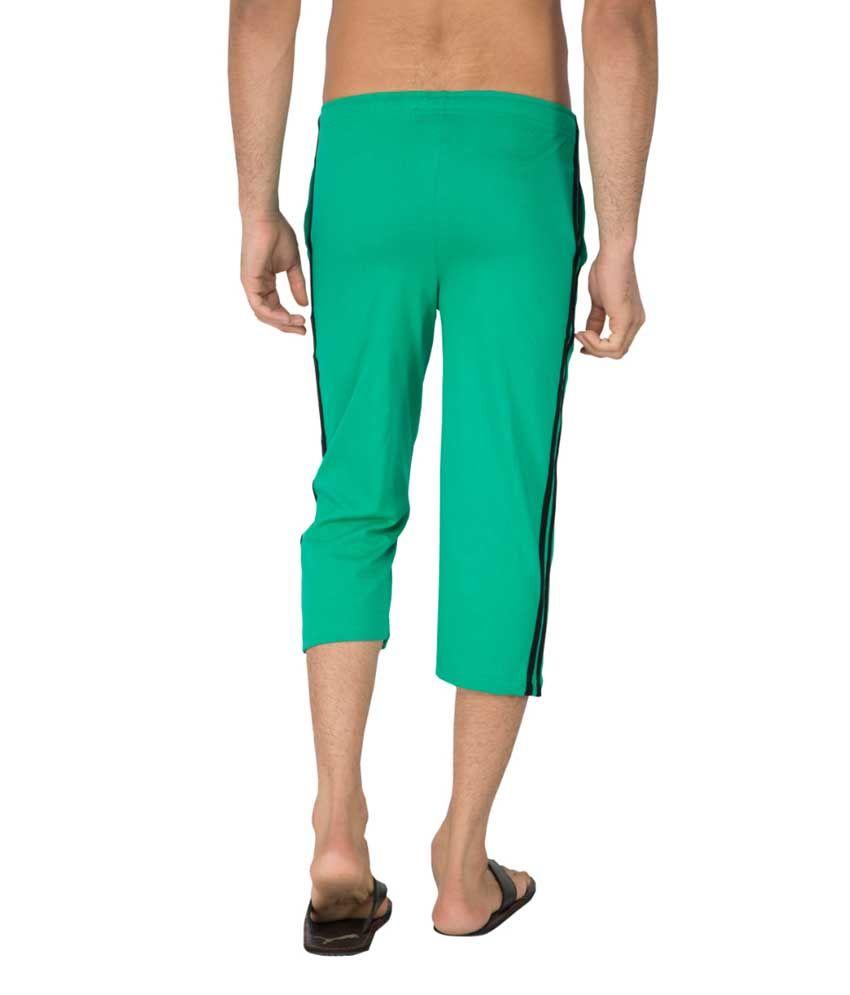 Clifton Fitness Men's Capri- Stump Green