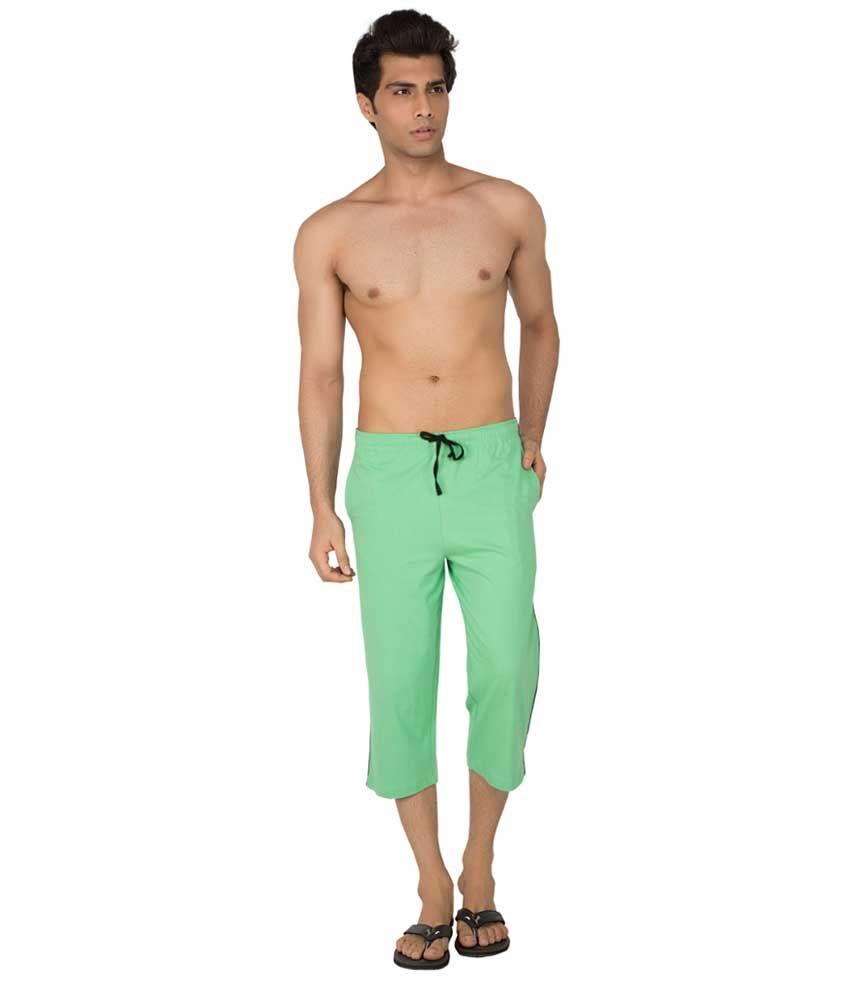 Clifton Fitness Men's Capri- Zeal Green