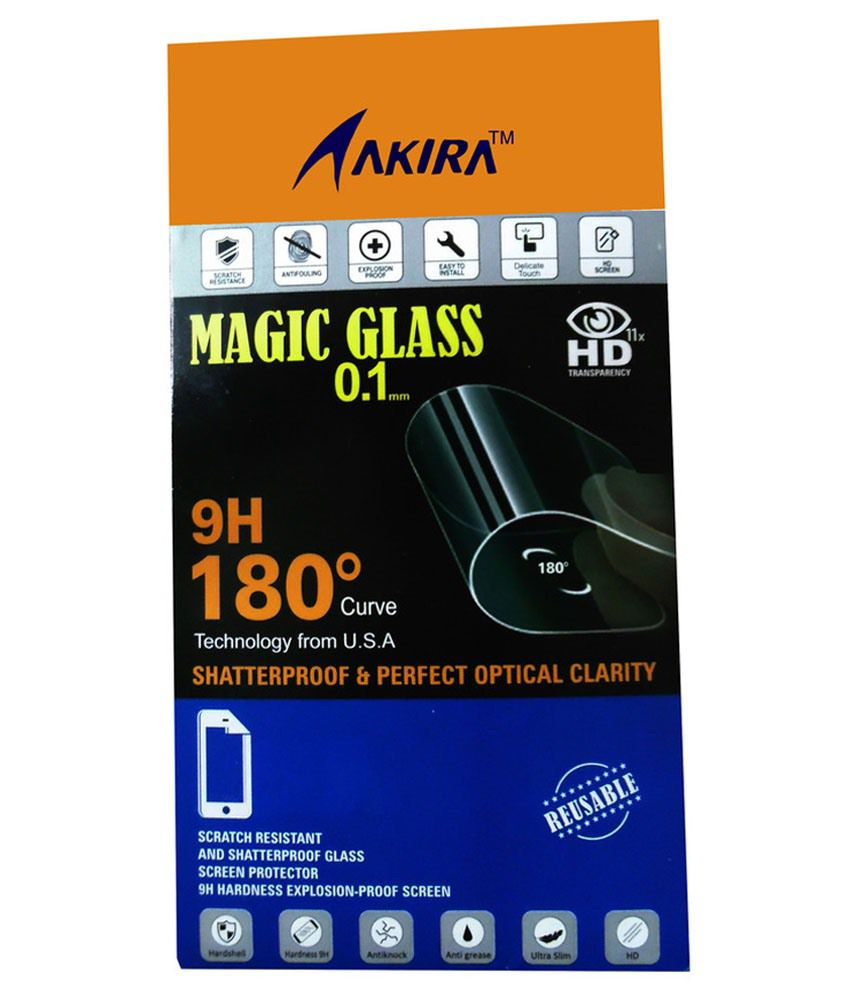 Lenovo A5000 Tempered Glass Screen Guard by AKIRA