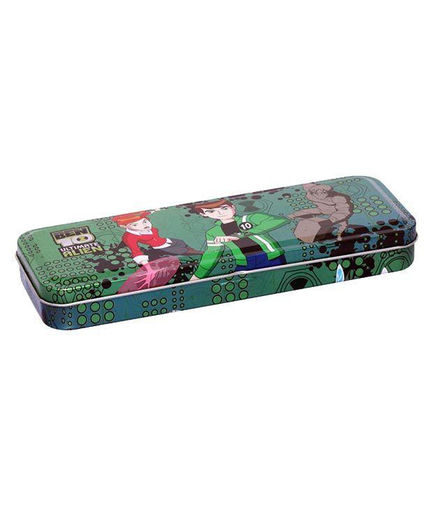 Ben 10 Green Pencil Box