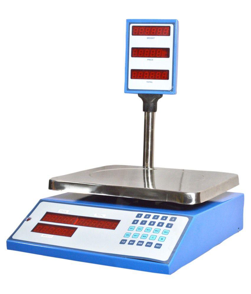 Seema Digital Scale Weighing Scale Machine Pack Of 4: Buy ...