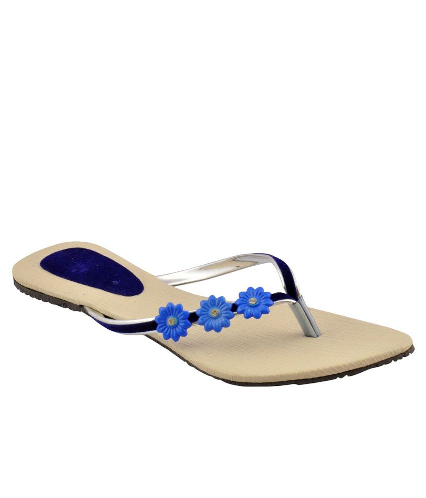 Bootwale Beige Flat Slip-on & Sandal