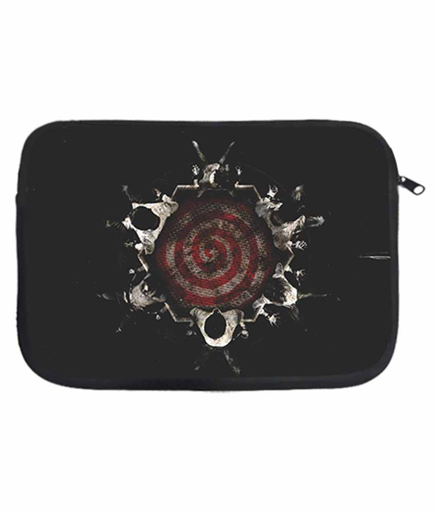 Design Worlds Multicolor Polyester Storm Laptop Sleeve