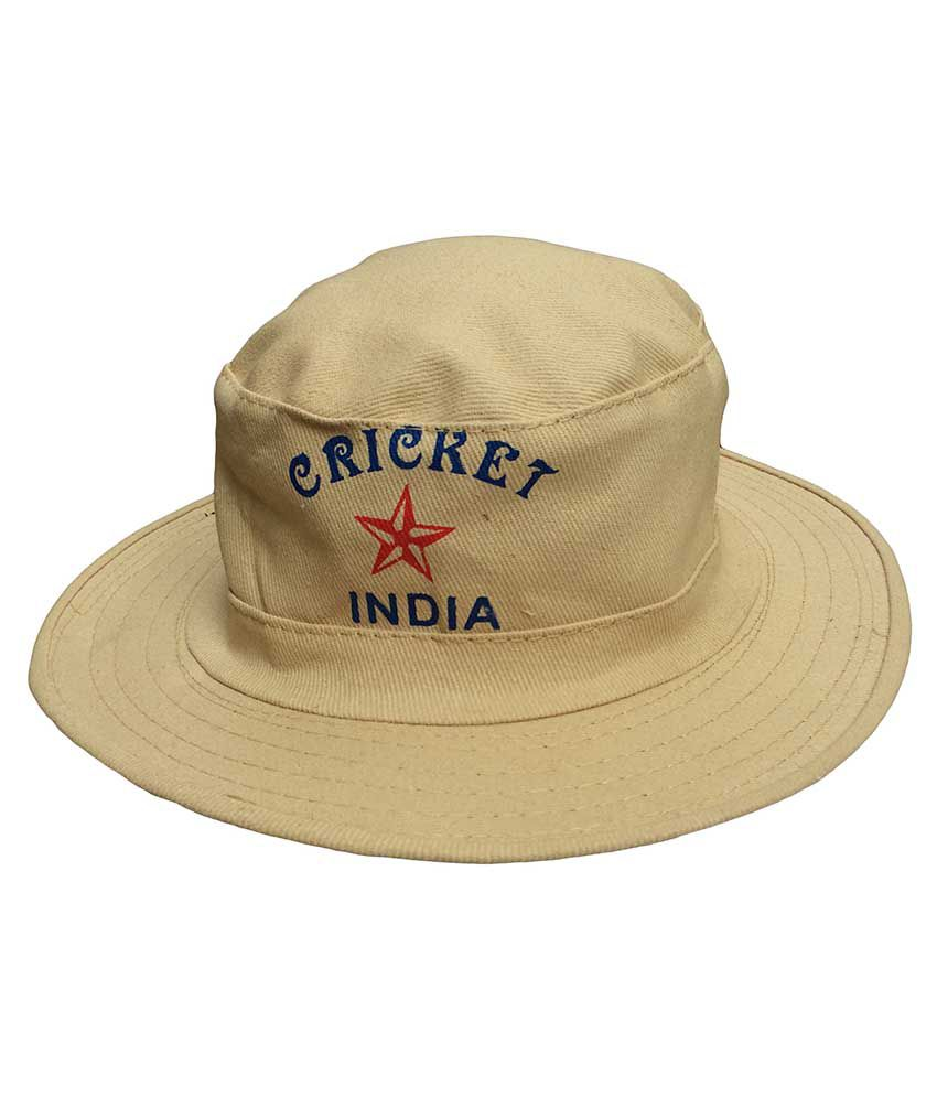 ce1ed0d7efc Jack   Ginni Cream Colour Cricket Round Cap - Pack Of 1  Buy Online at Best  Price on Snapdeal