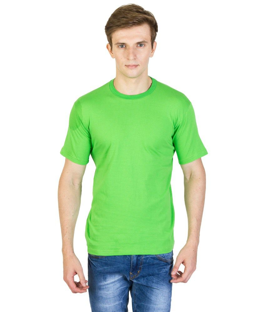 Masterpiece Green Round T Shirts Pack of 5