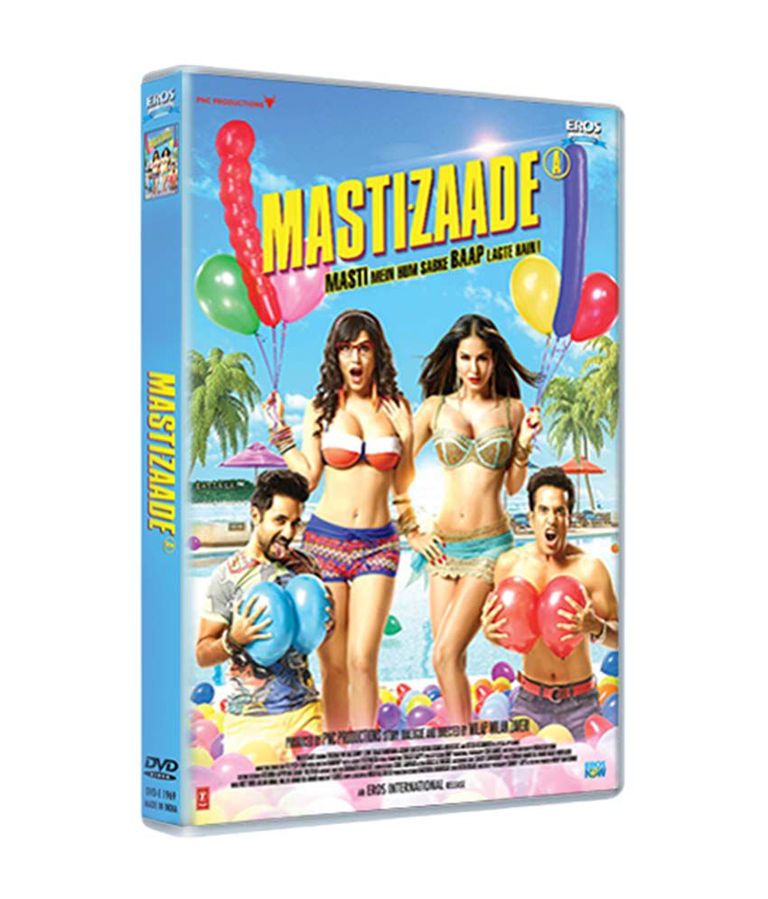 Mastizaade DVD Hindi