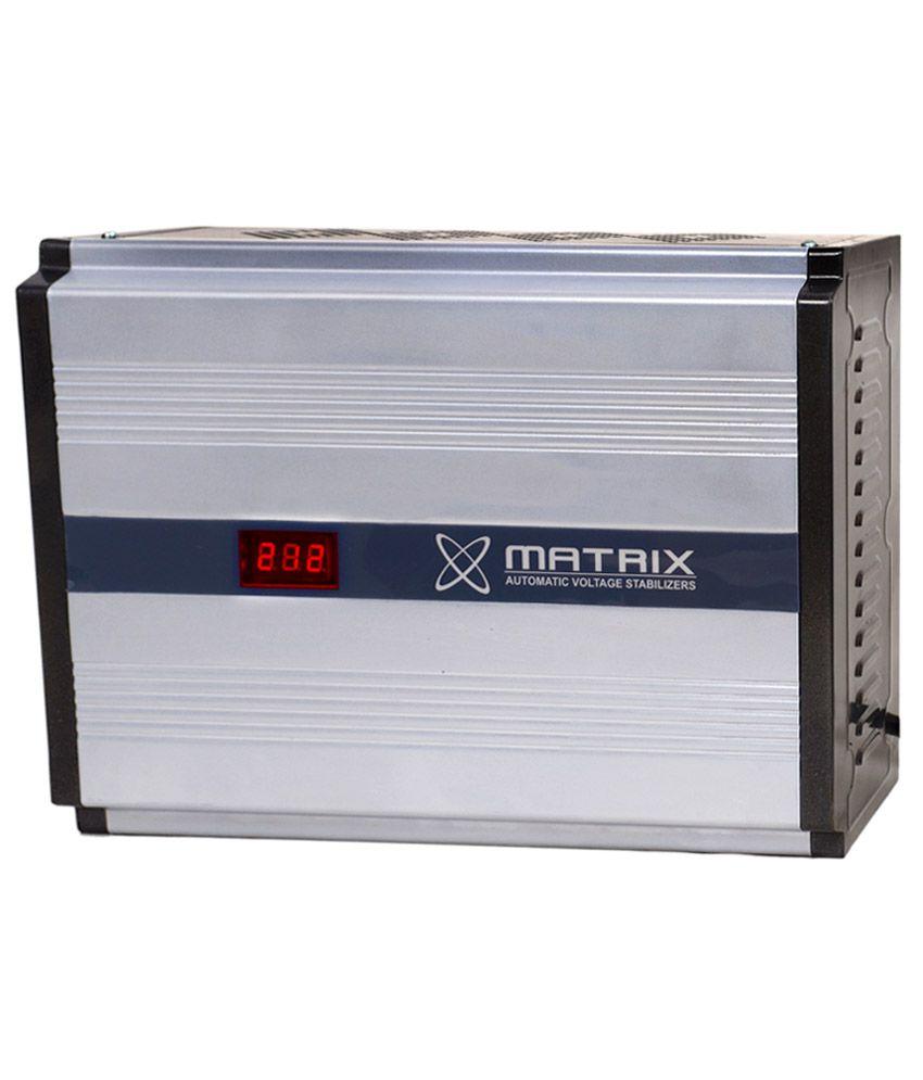 Matrix MX-417C 4 KVA 170V Voltage Stabilizer