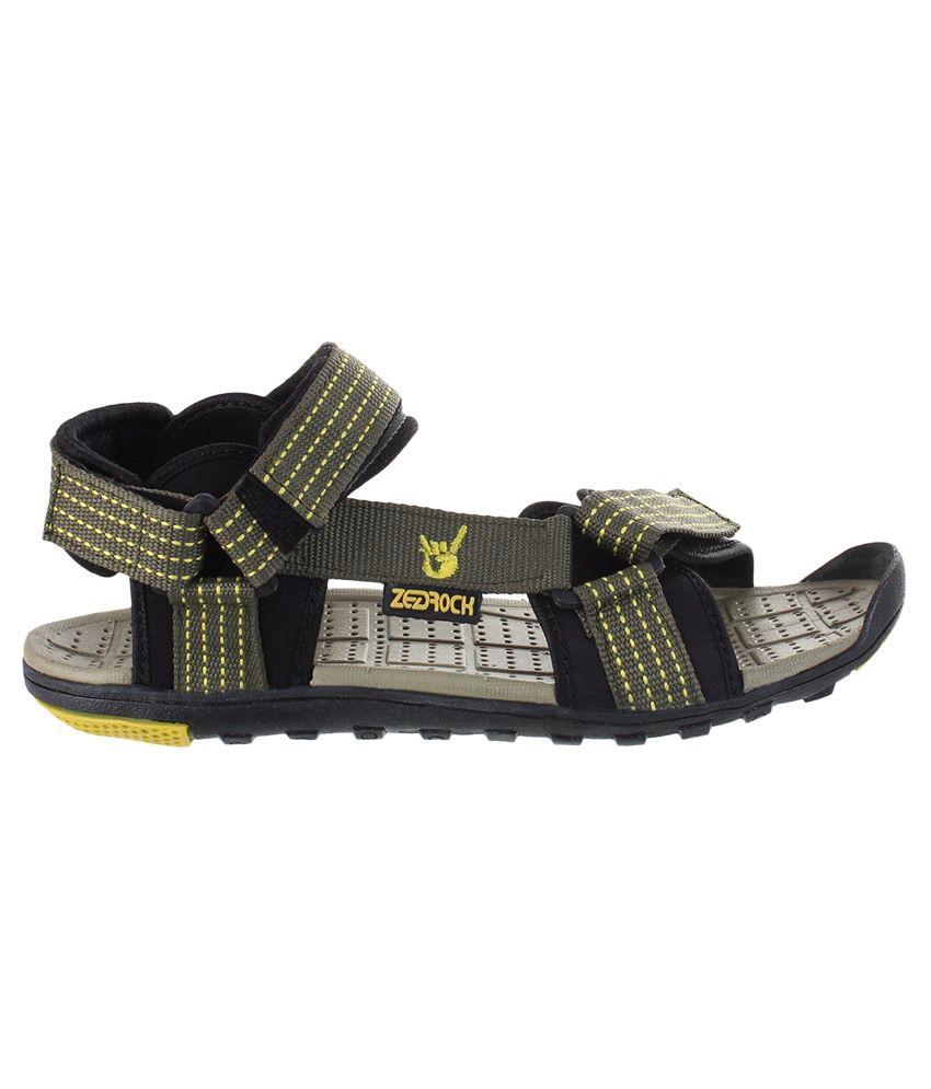 Zedrock Green Floater Sandals - Buy