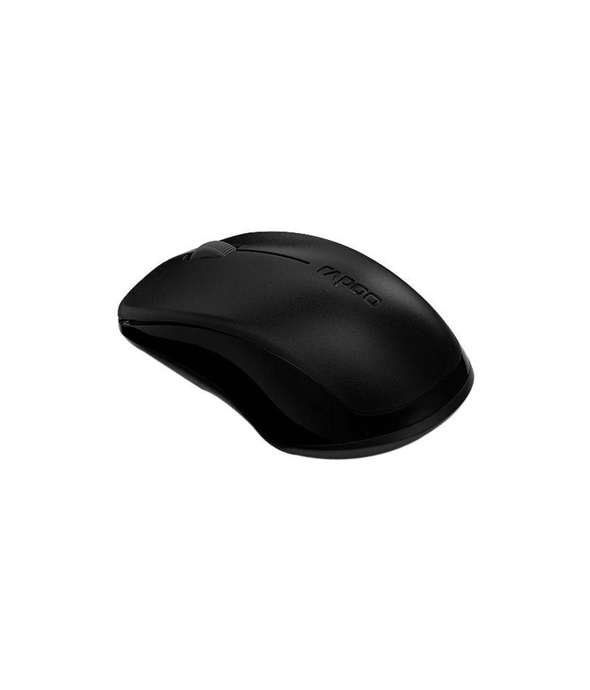 Rapoo 1620 Wireless Mouse Black