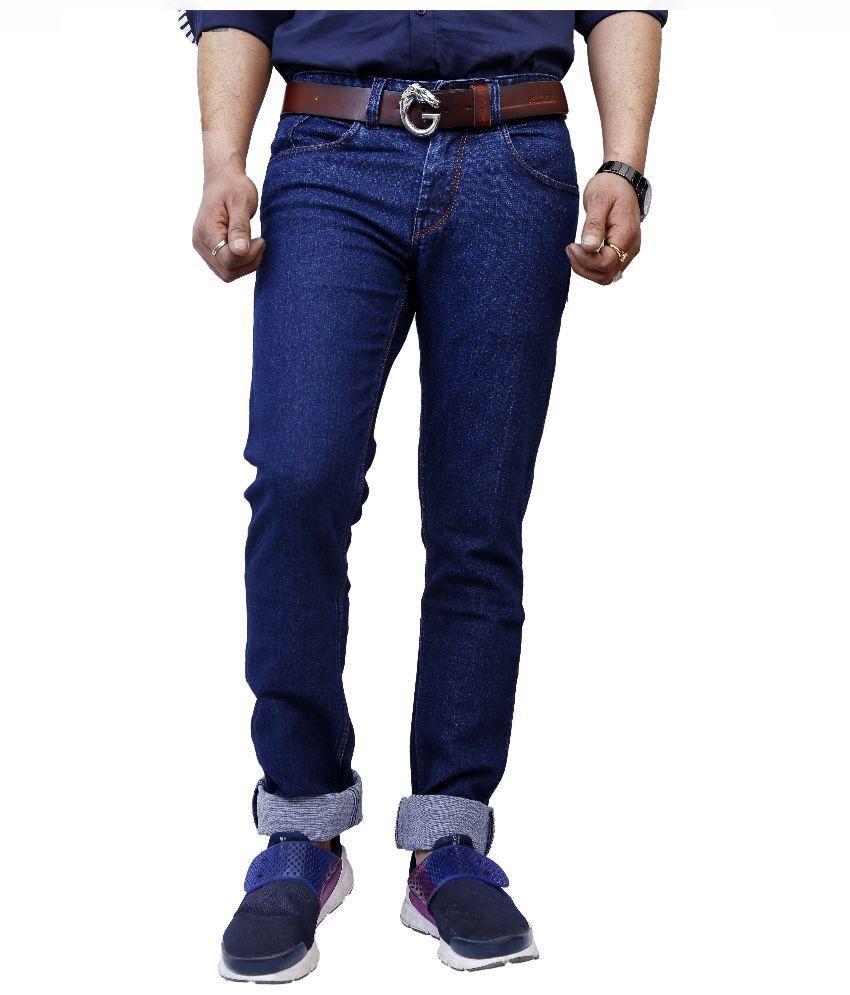 Superx Blue Skinny Fit Jeans