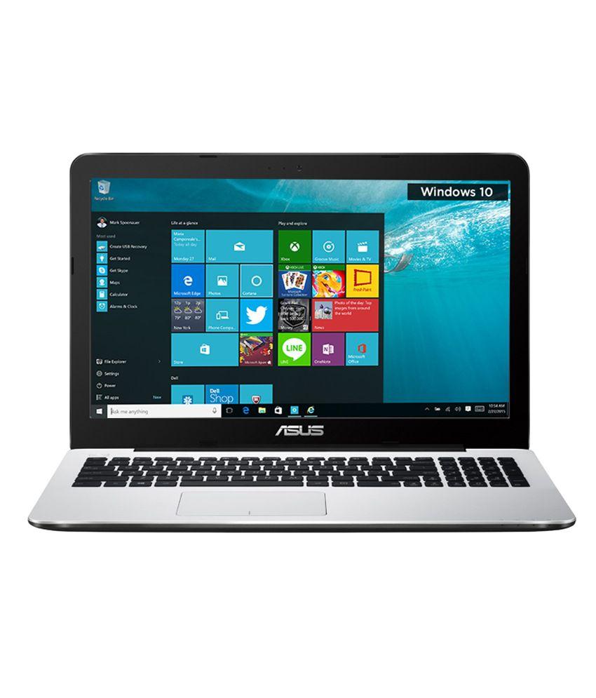 Asus A555LA-XX2564T Notebook (90NB0653-M39820) (5th Gen Intel Core i3- 4GB RAM- 1TB HDD- 39.62cm (15.6)- Windows 10) (White)