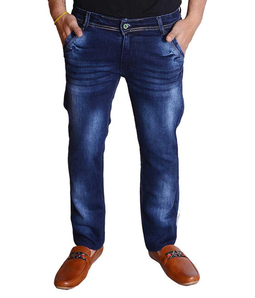 Zrestha Blue Regular Fit Jeans