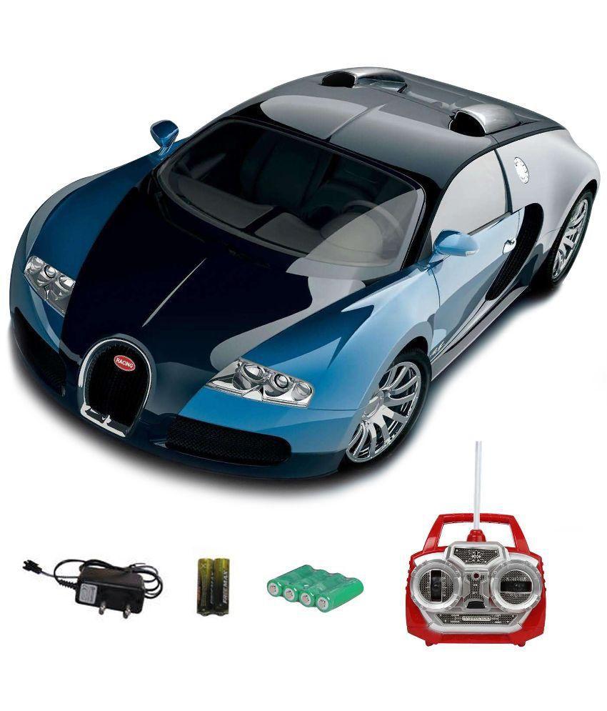 shopcros remote control rechargeable bugatti veyron car - buy