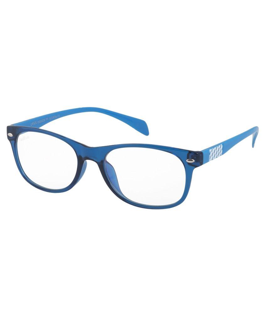 iFox Clear Rectangle Sunglasses