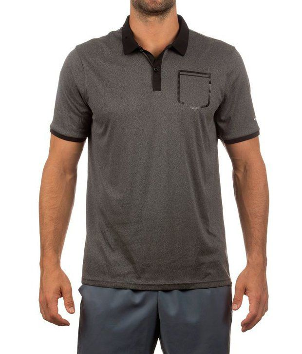 ARTENGO Soft Pocket Badminton / Tennis Men's Polo Shirt