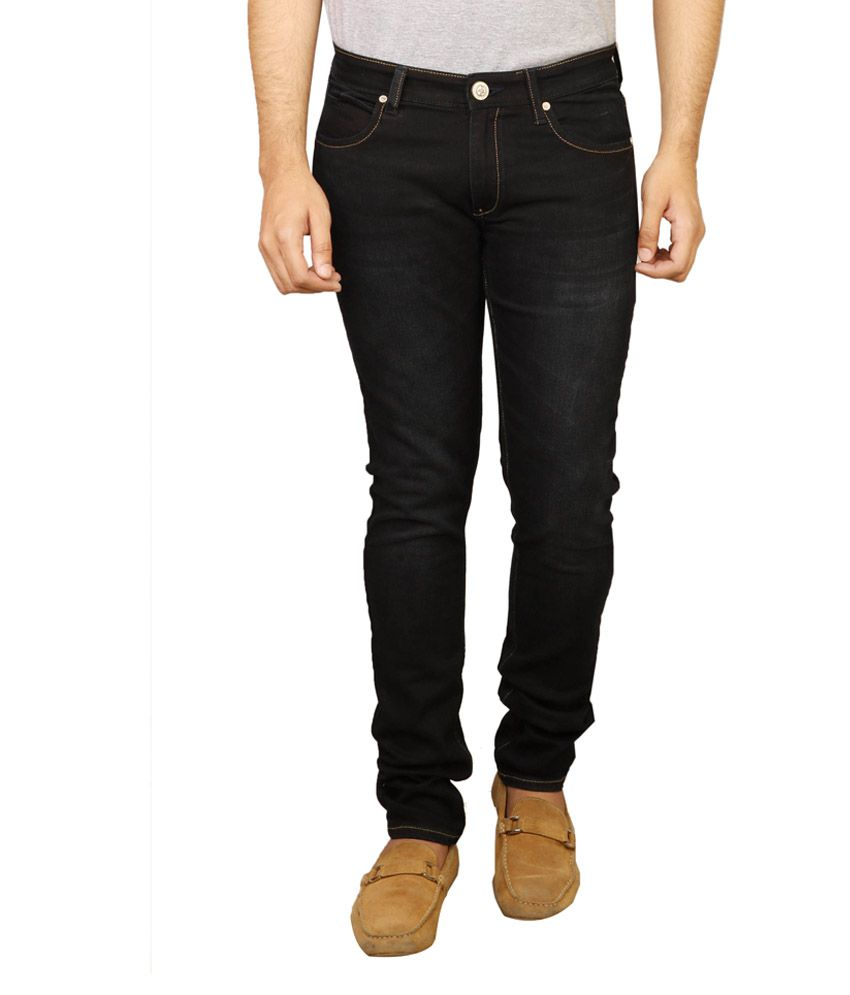 Cross Plus Black Slim Fit Jeans
