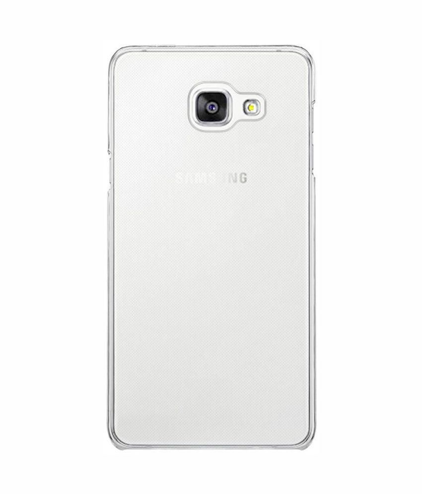 pretty nice d6fe4 17794 PrixCracker Back Cover for Samsung Galaxy A7 2016 - Transparent