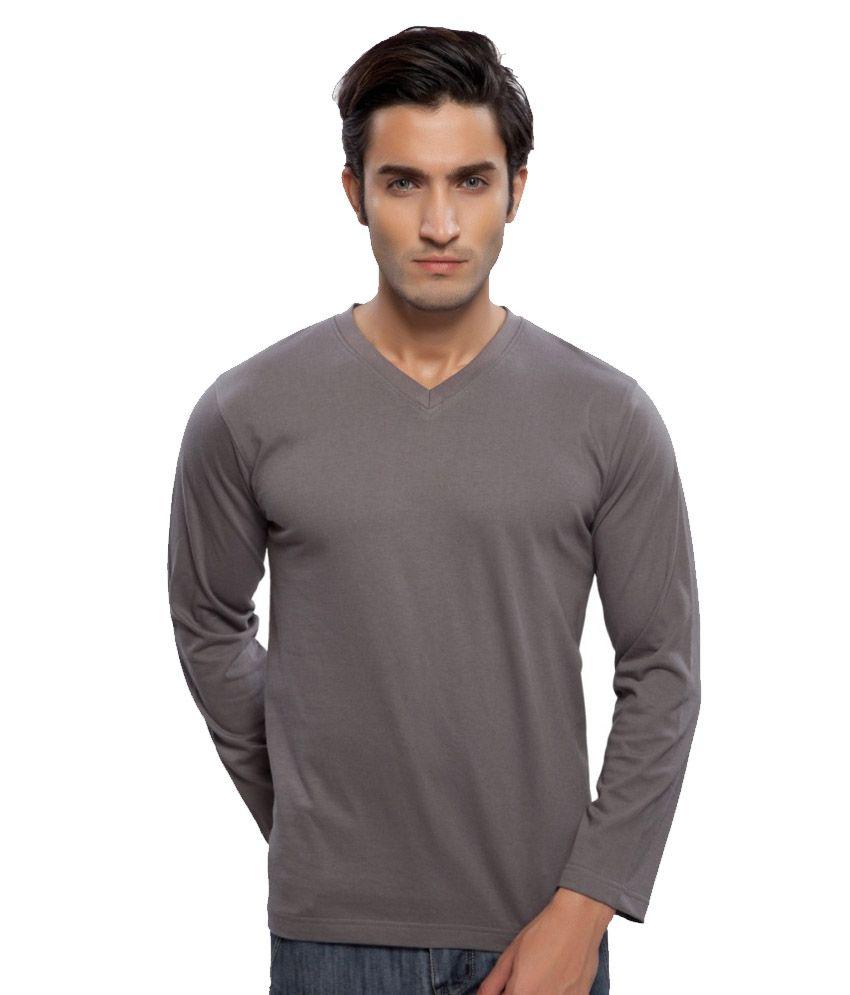 Clifton Fitness Men's Mustee Full Sleeve -Steel Grey