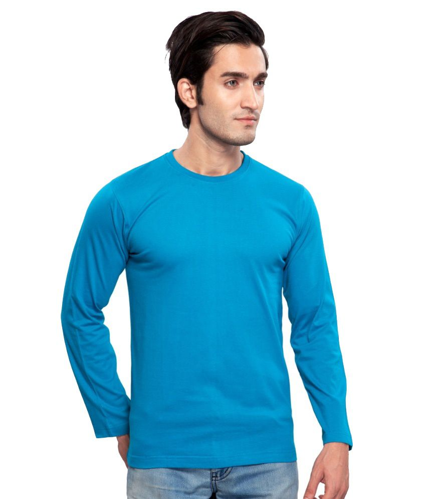 Clifton Fitness Men's Mustee Full Sleeve -Turquiose