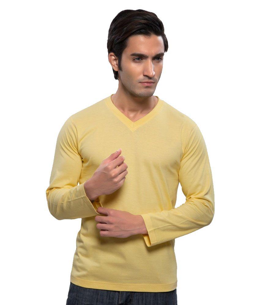 Clifton Fitness Men's Mustee Full Sleeve -Yellow