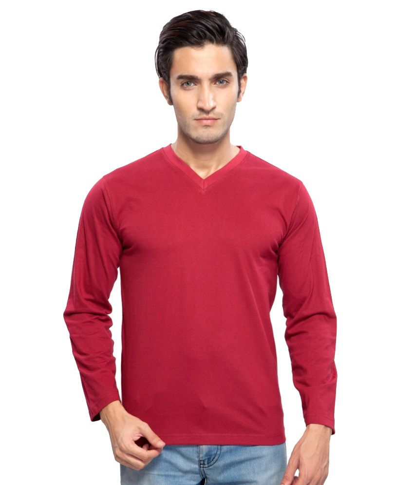 Clifton Fitness Men's Mustee Full Sleeve -Maroon
