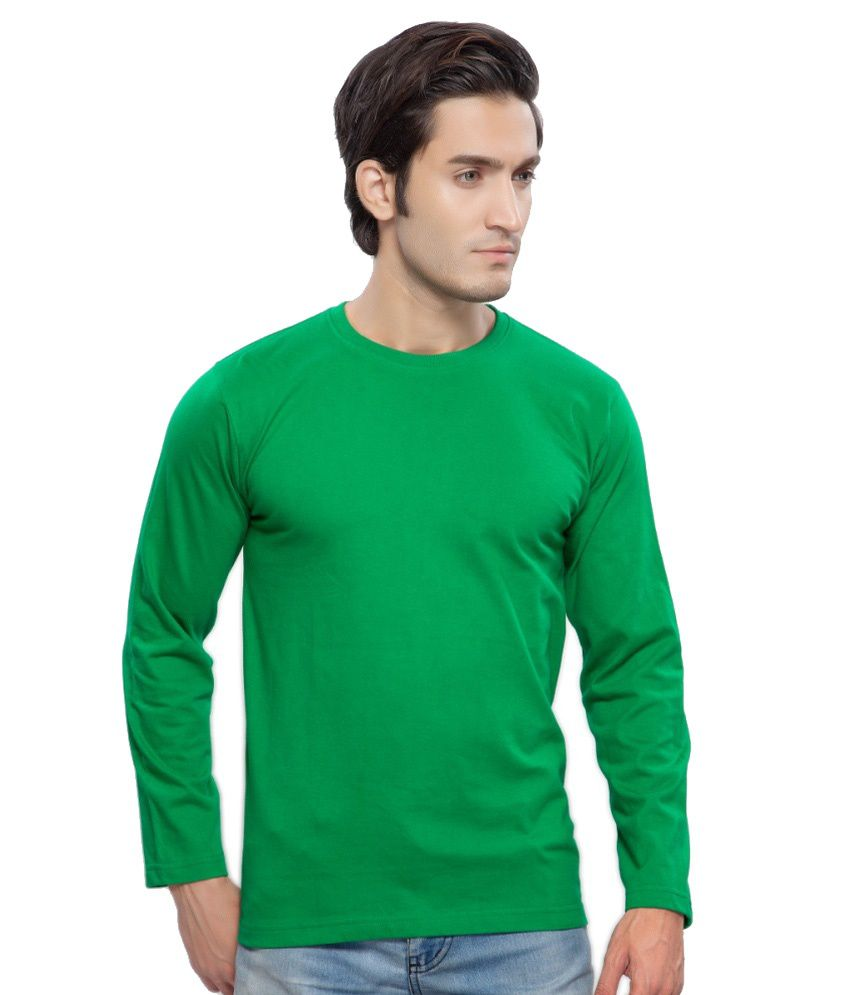 Clifton Fitness Men's Mustee Full Sleeve -Dark Green