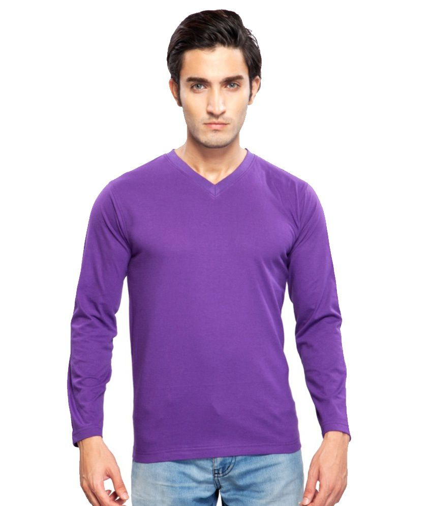 Clifton Fitness Men's Mustee Full Sleeve - Purple