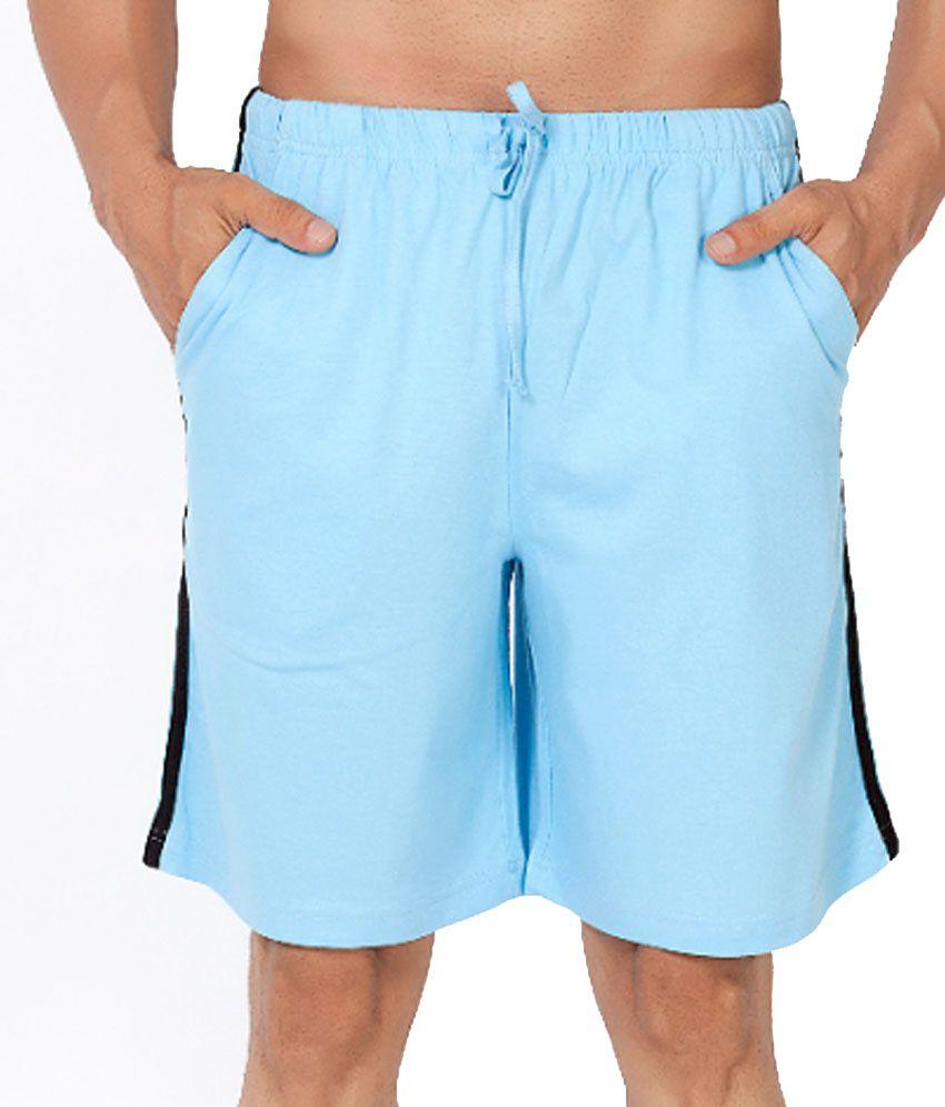 Clifton Fitness Men's Shorts -Lit.Blue