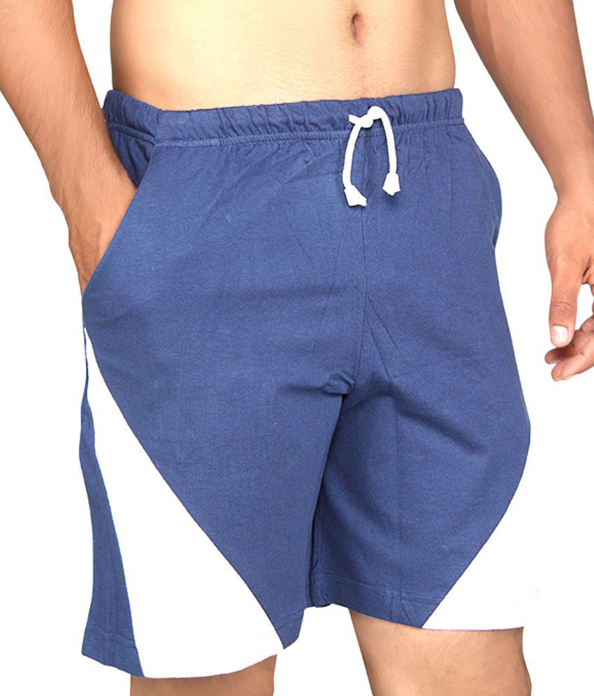 7ba2b233b Clifton Fitness Men  039 s Shorts Navy available at SnapDeal for Rs.240
