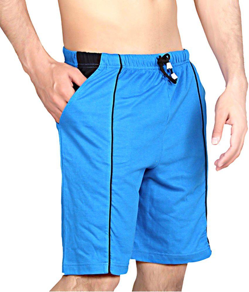 Clifton Fitness Men's Shorts -Royal blue