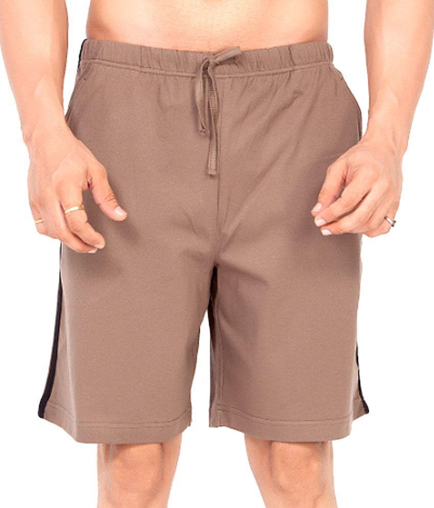 Clifton Fitness Men's Shorts -Walnut