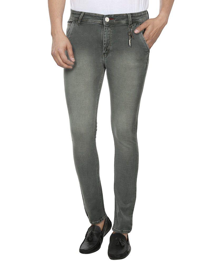 FLU Grey Slim Fit Jeans