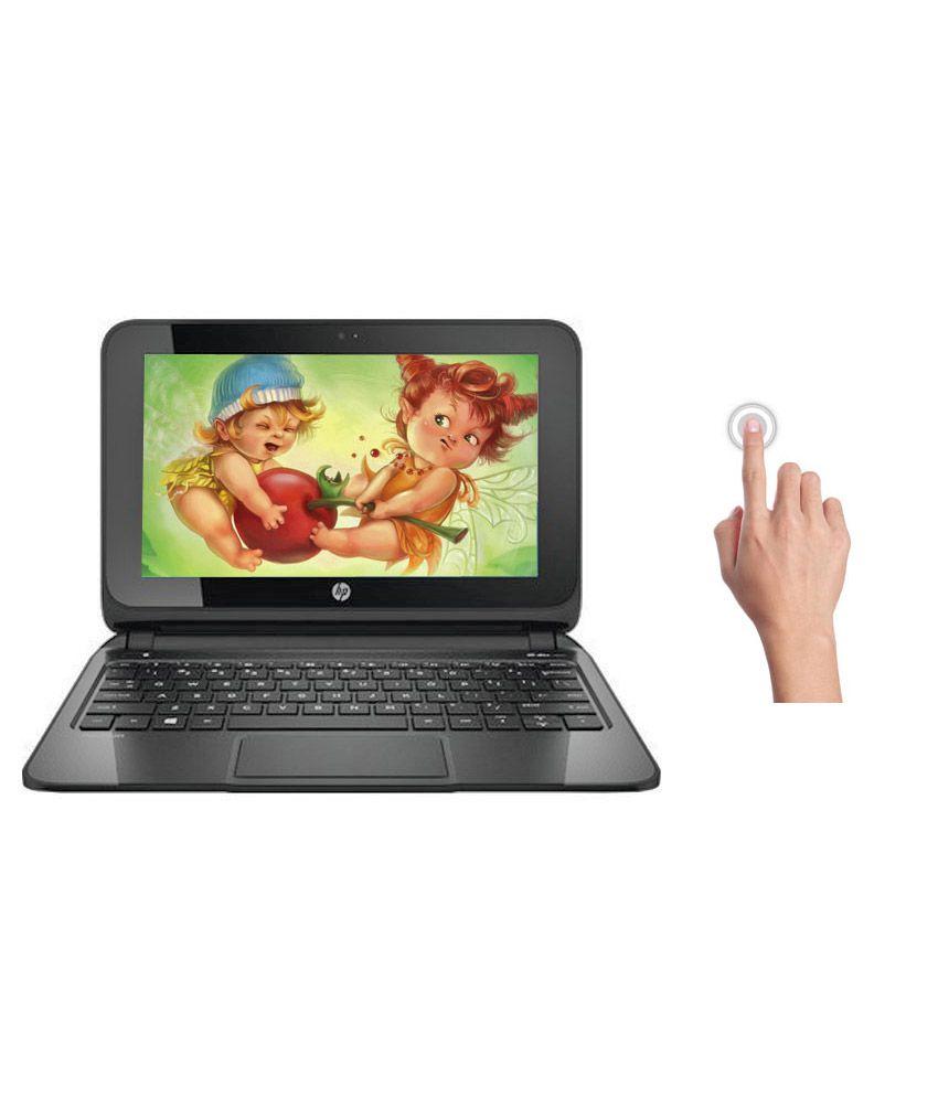 HP Pavilion TS 10-e007AU Laptop (AMD A4- 2GB RAM- 500GB HDD- 25.65cm (10.1) TS- Win 8.1) (Silver)