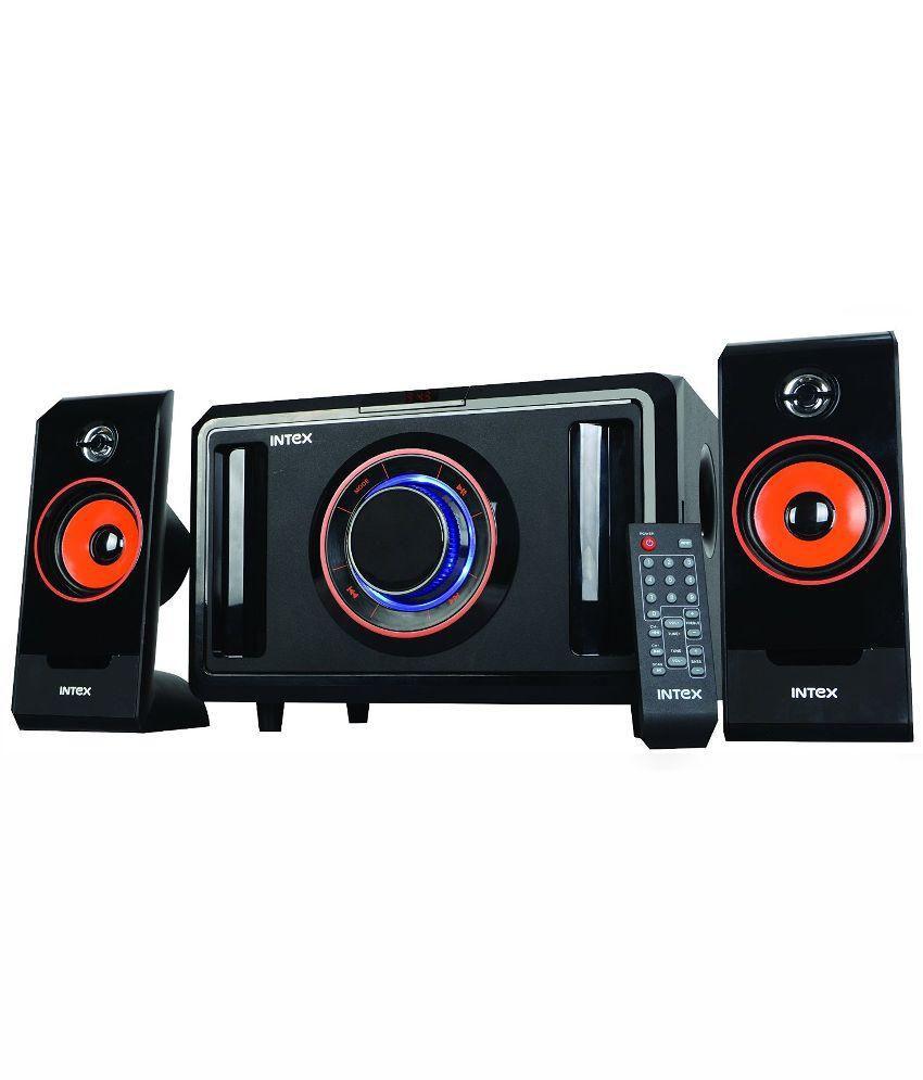 INTEX IT-2590 SUF 2.1 Multimedia Speakers - BLACK