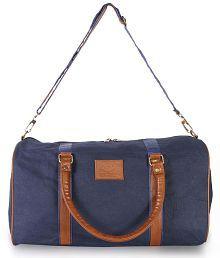 The Clownfish Canvas Blue Luggage 18 Inch Gym Bag