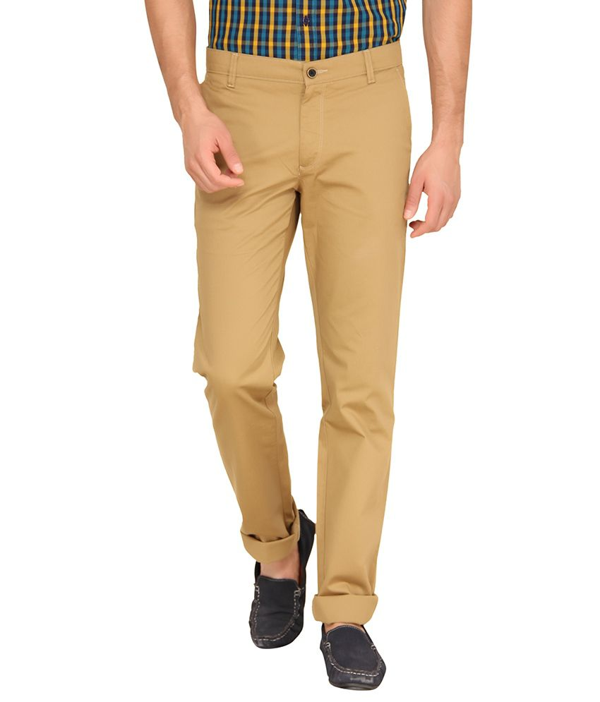Classic Polo Beige Slim Fit Chinos