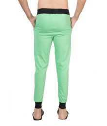 Clifton Mens Ribbed Slim Fit Track Pant -green