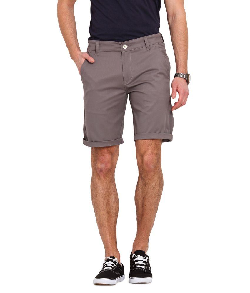 Ennoble Grey Shorts