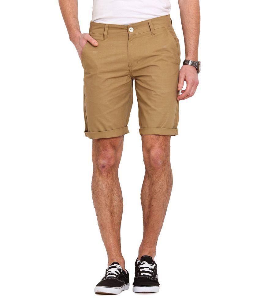 Ennoble Khaki Shorts