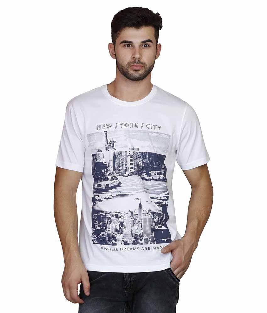 Scottish Polo White Round T Shirts
