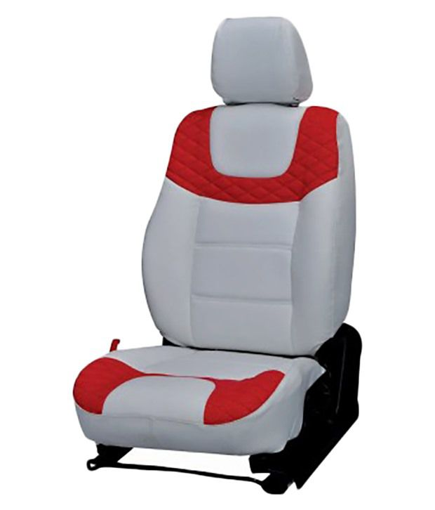 Elaxa Car Seat Cover For Ford Ecosport Set Of 4 Red White Buy