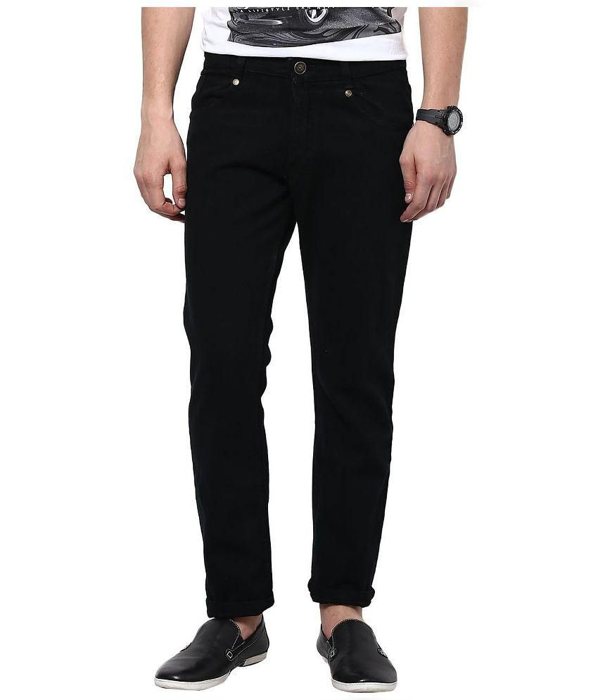 Fashion Deck Black Slim Fit Jeans