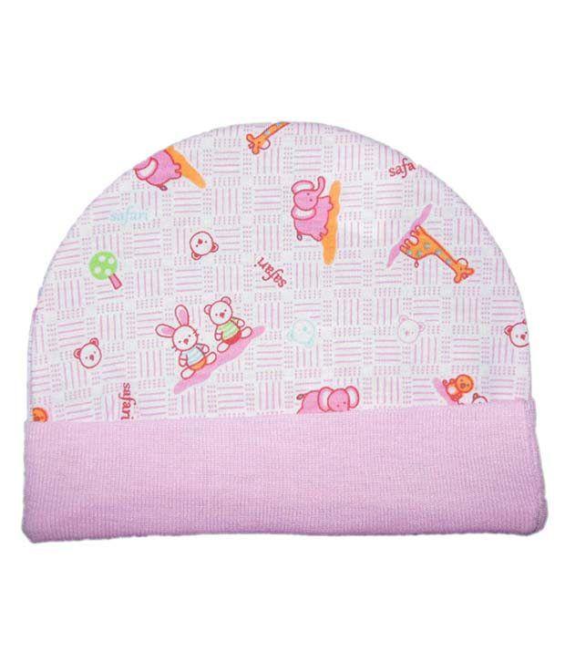 Login Multicolor Cotton Baby Caps - Set Of 4  Buy Login Multicolor ... adbaebfd1bf