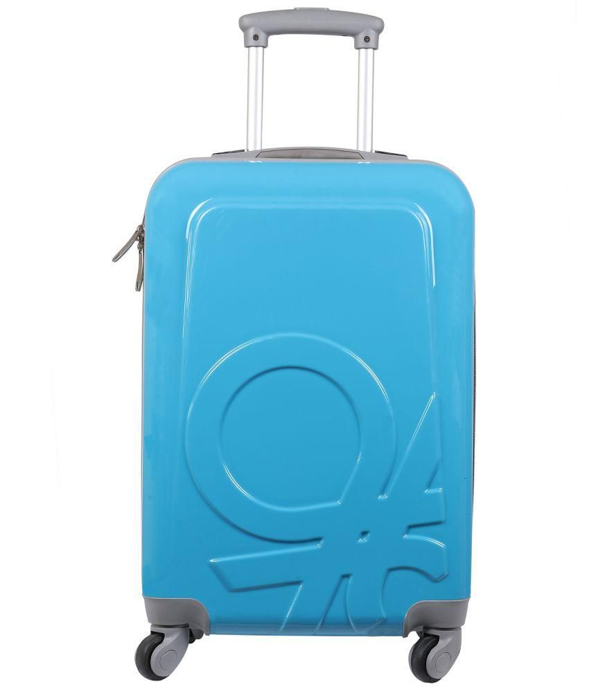 44f147dd4f12 United Colors of Benetton Blue 4 Wheels Trolley Bag - Buy United Colors of  Benetton Blue 4 Wheels Trolley Bag Online at Low Price - Snapdeal